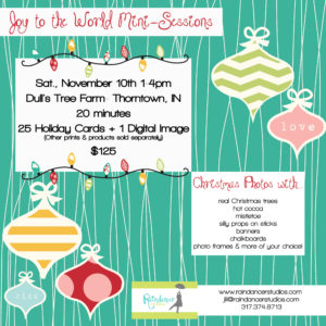 """Joy to the World"" Christmas Mini-Sessions"