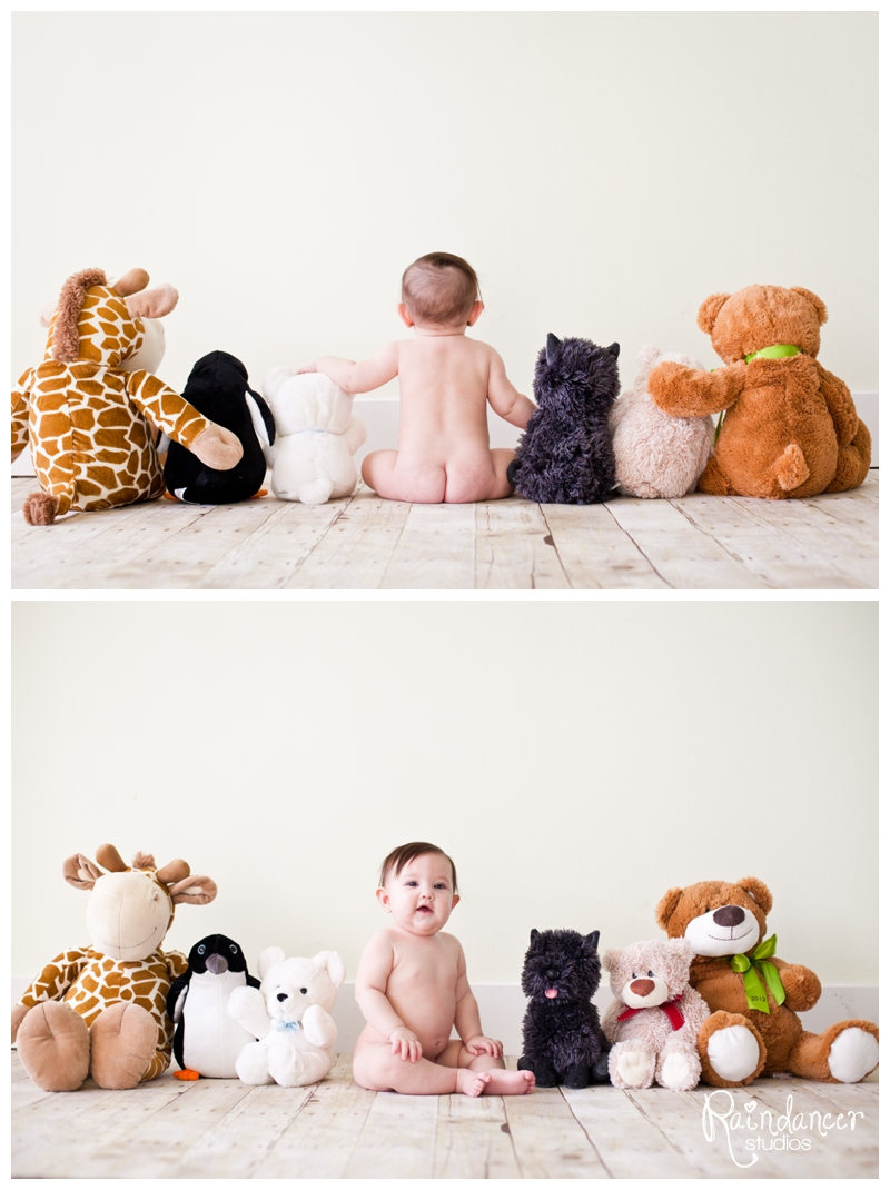 Ryleigh Rocked Her 6 Month Photos [Indianapolis Baby Photographer]