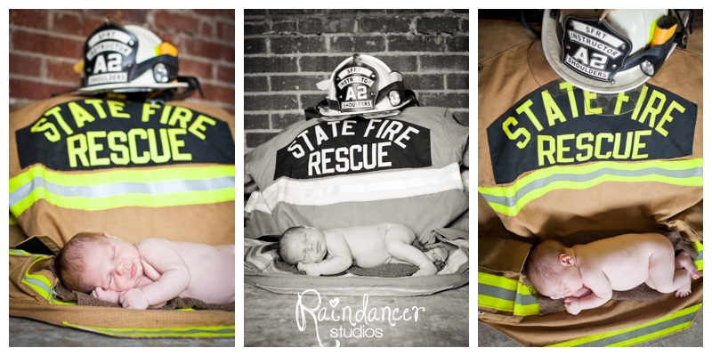 A Firefighter's Son is Born [Indianapolis Newborn Photographer]