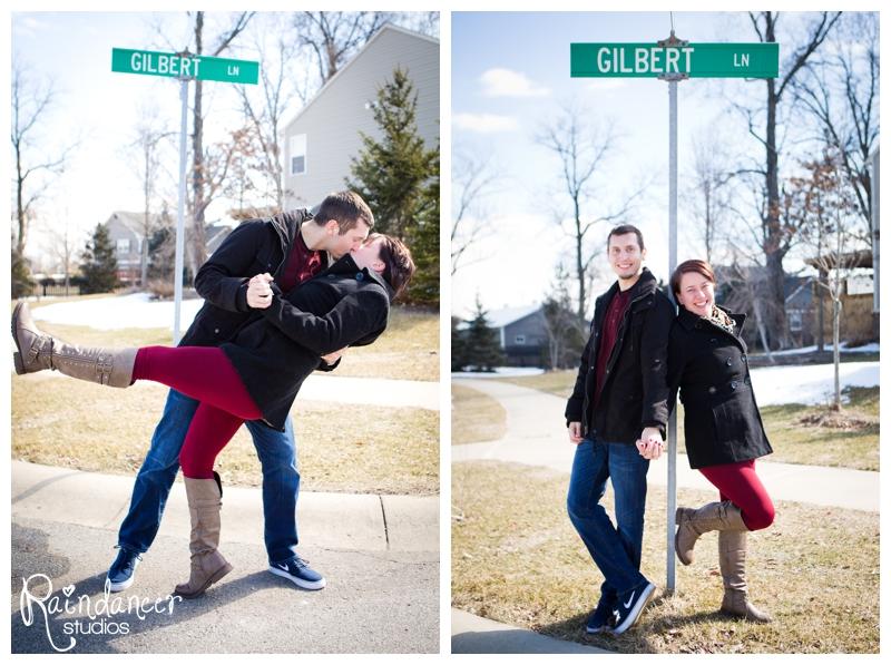 Kory & Kristen are Engaged! {Indianapolis Engagement Photographer}