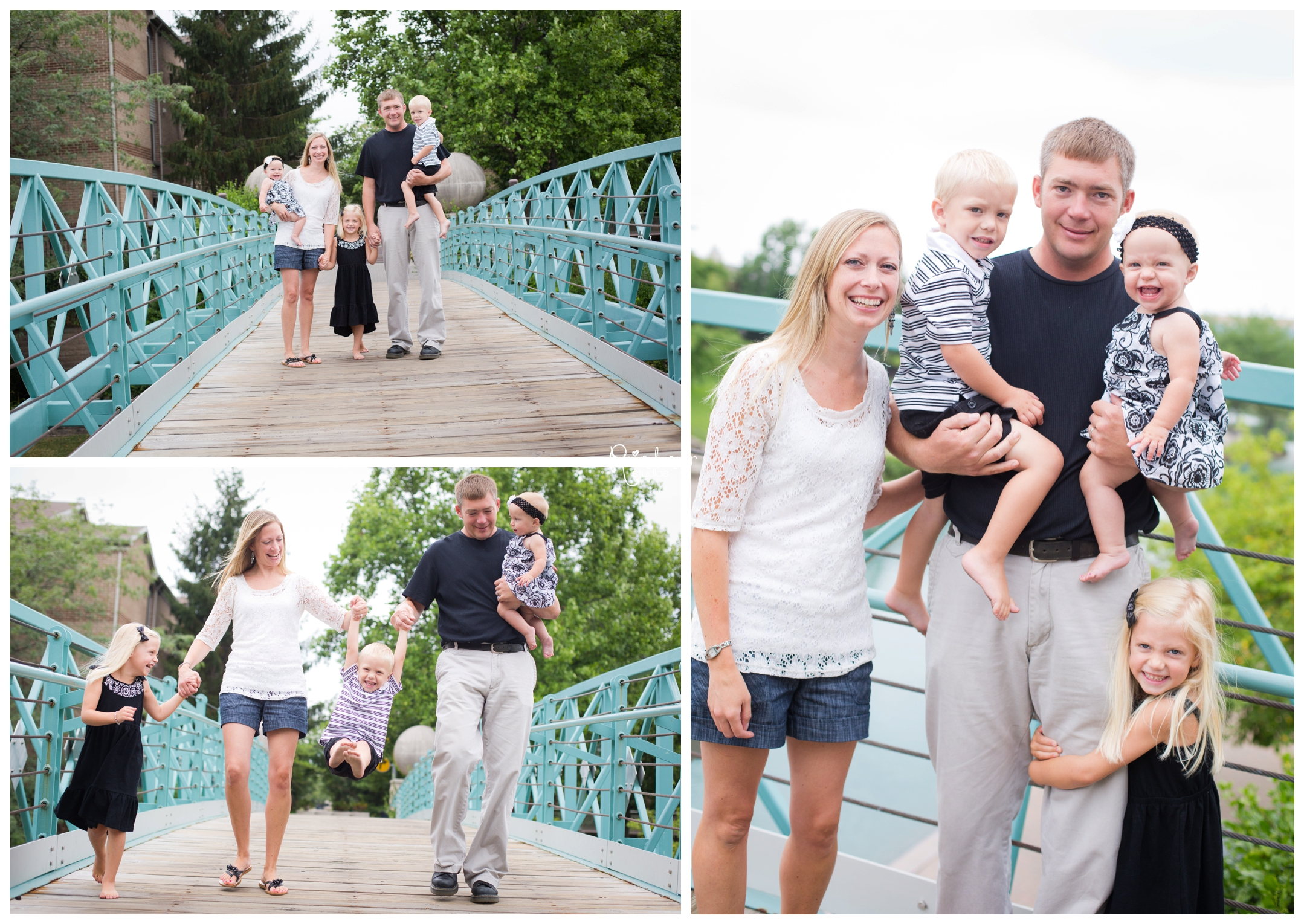 Lottes Family- Lakyn is One!  {Indianapolis Family Photographer}