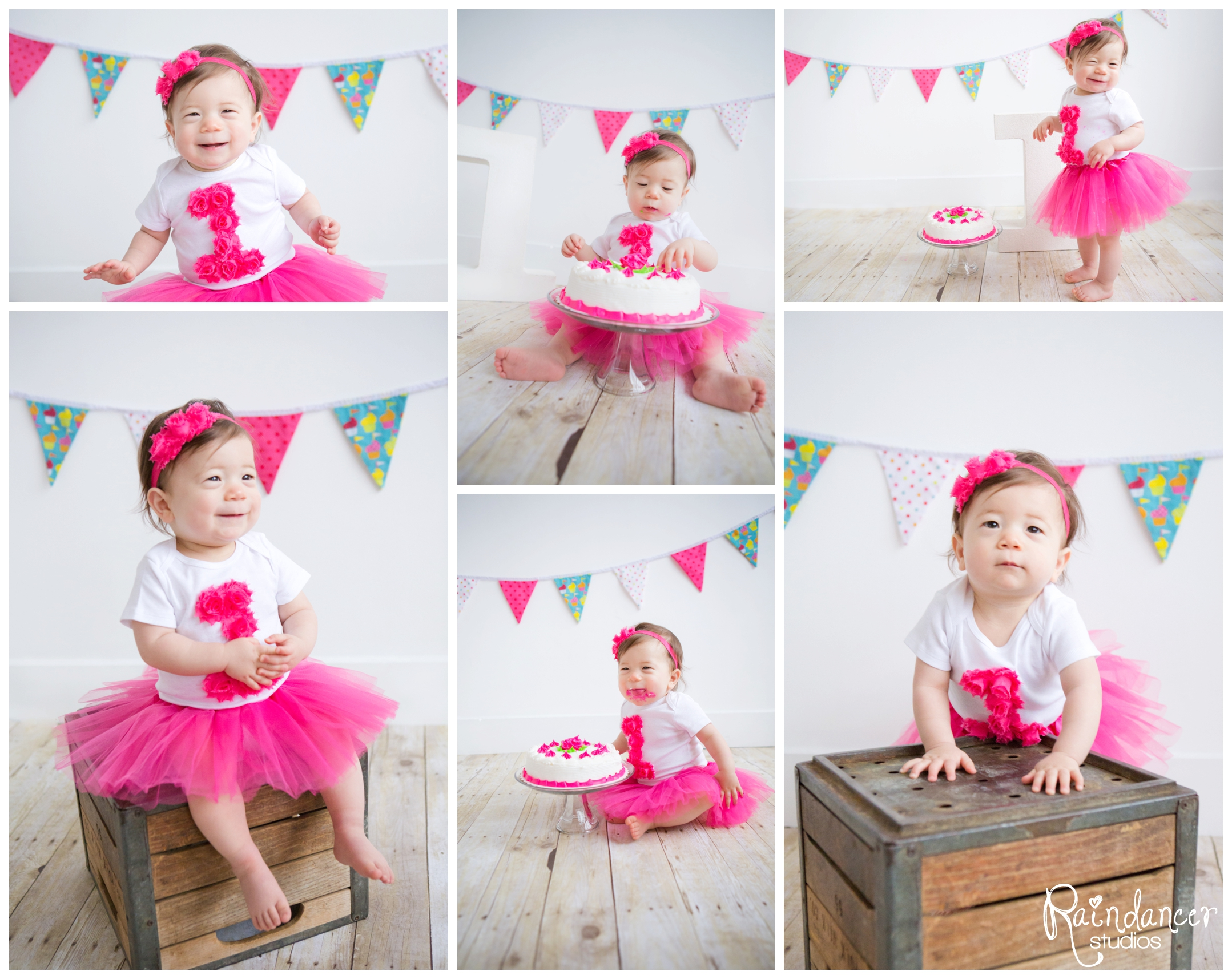 Lillian Turns One!  {Indianapolis Children Photographer}