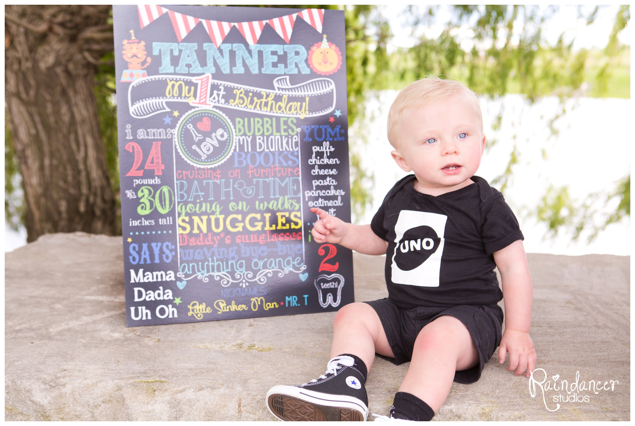 Happy 1st Birthday, Tanner!  {Indianapolis Baby Photographer}