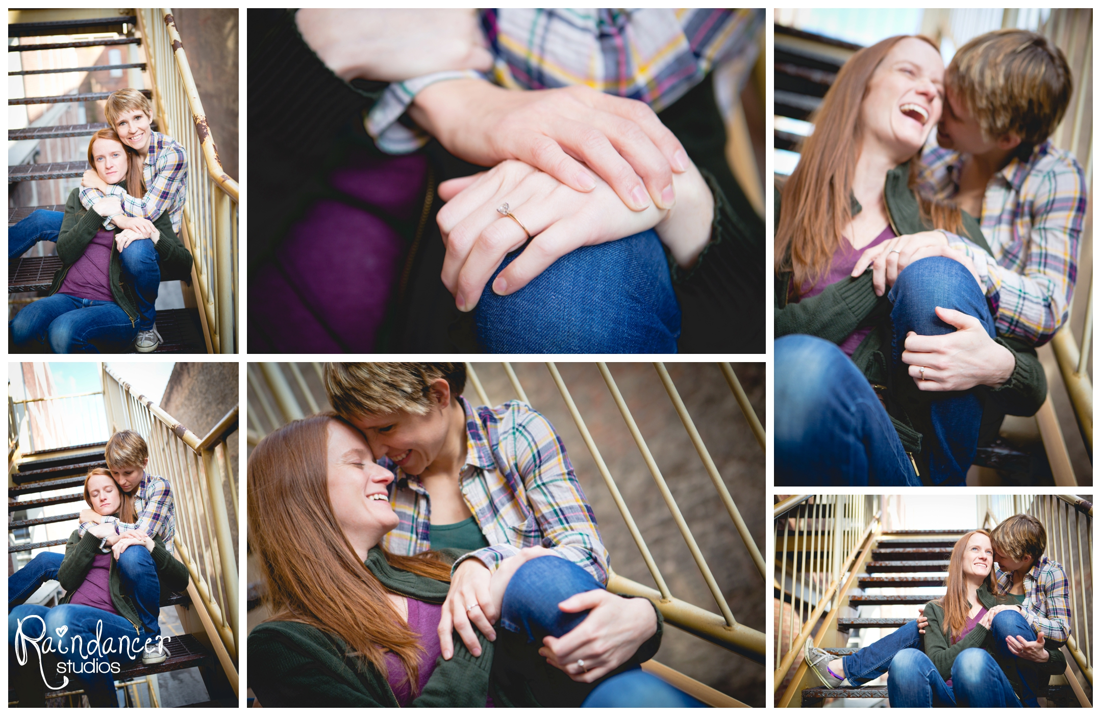 Jen & Nikki are Engaged!  {Indianapolis Engagement Photographer}