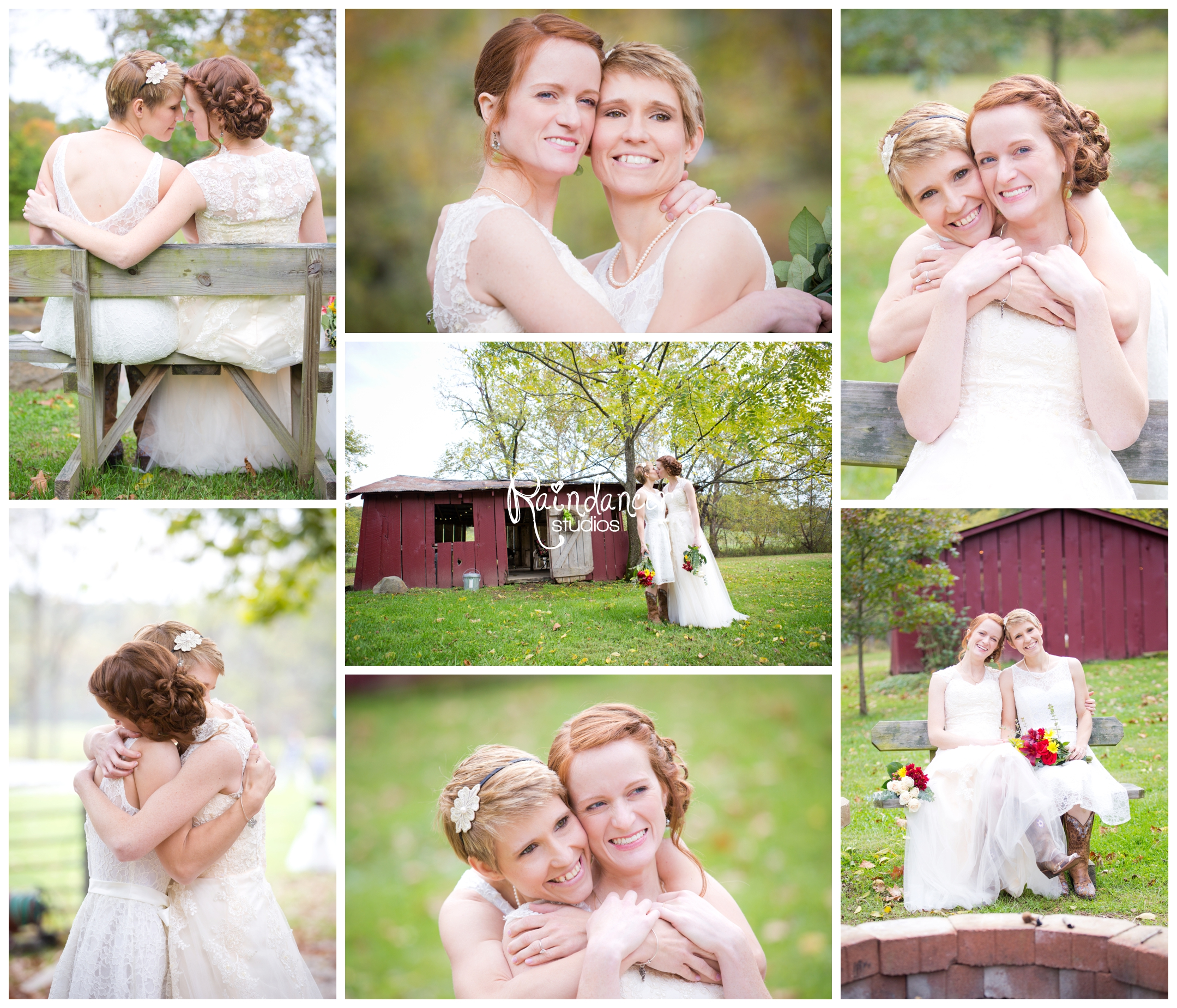Jen + Nikki's Brown County Wedding  {Indianapolis Wedding Photographer}