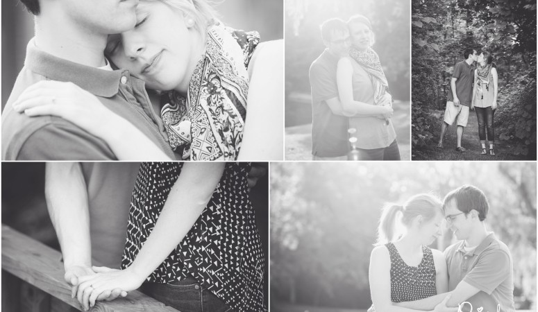 Megan + Stephen Are Engaged!  {Indianapolis Engagement Photographer}