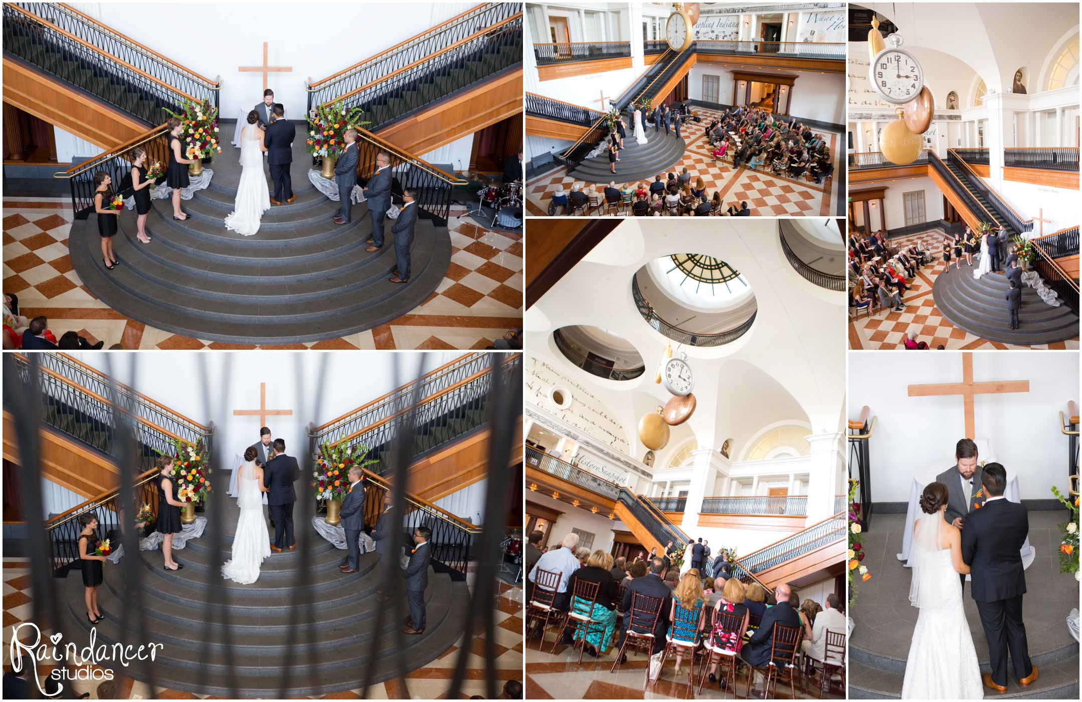 Kate + Christian's Wedding at the Indiana Historical Society