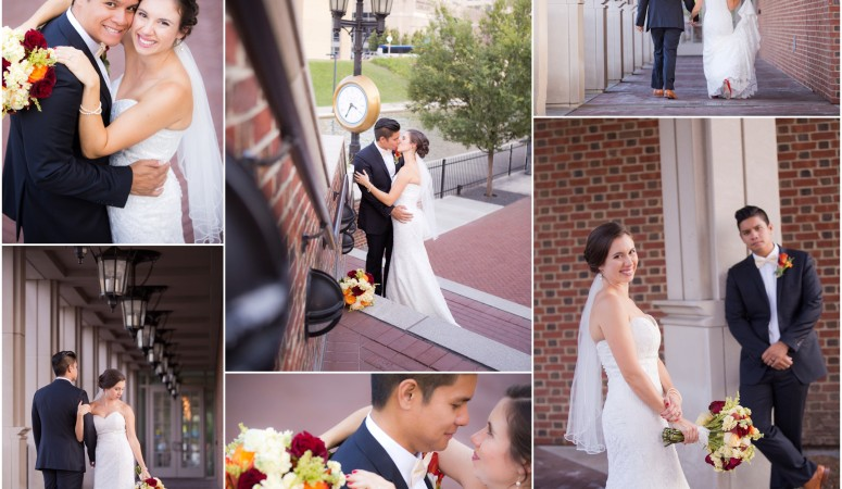 Kate + Christian's Wedding at the Indiana Historical Society  {Indianapolis Wedding Photographer}
