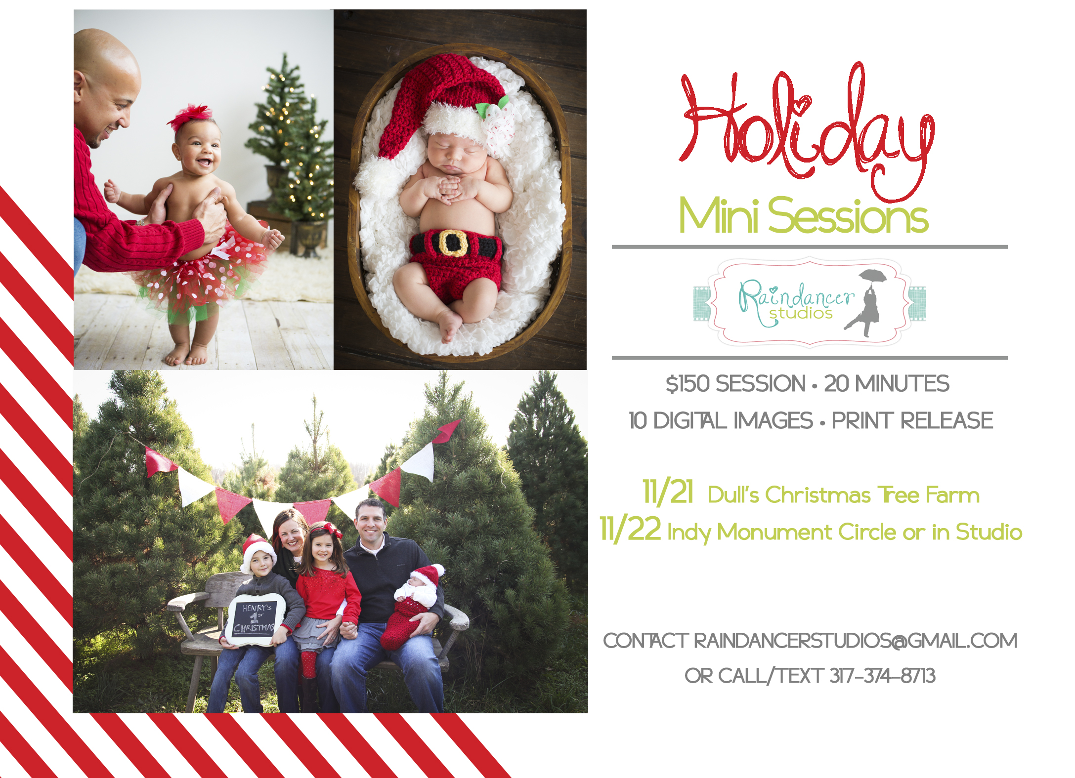 Holiday Mini Sessions Announced!! {Indianapolis Family Photographer ...