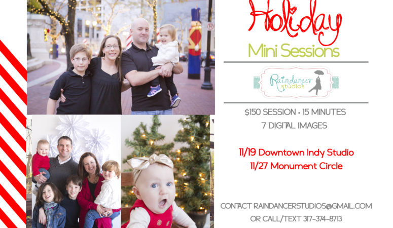 Fall & Holiday Mini Sessions Announced!  –  Indianapolis Family Photographer