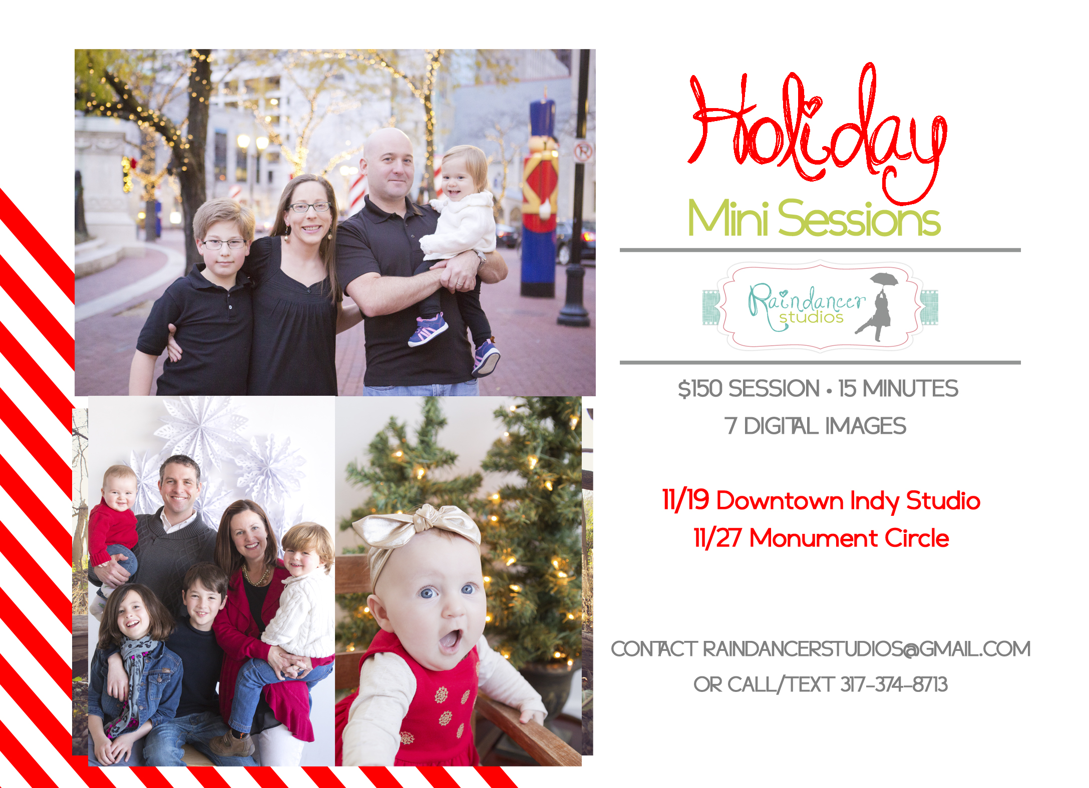 indianapolis family photographer, Indianapolis children photographer, Indianapolis holiday mini sessions