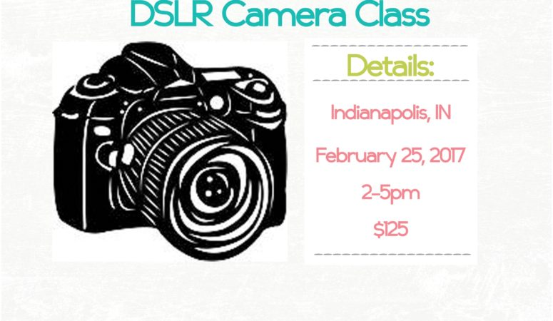 February 2017 DSLR Camera Class Announced –  Indianapolis Photographer