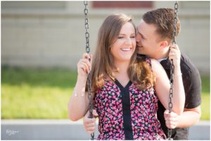 Elementary School Sweethearts – Indianapolis Engagement Photographer