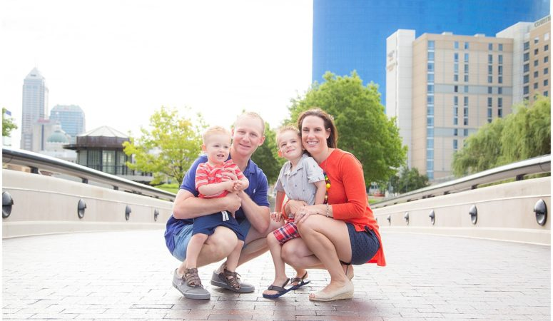 Down On The Canal- Indianapolis Family Photography