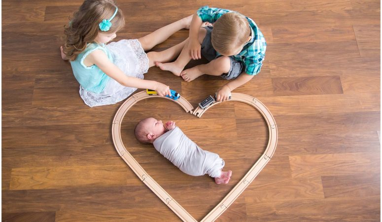 Family of Five – Indianapolis Newborn Photographer