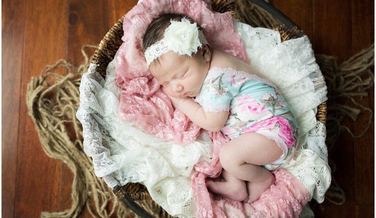 Clara's Lifestyle Newborn Session- Indiana Newborn Photographer
