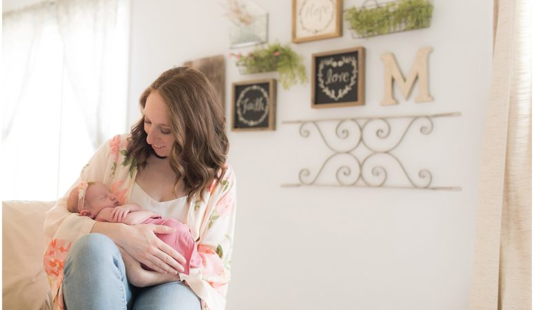 Eliza Kate – Franklin, Indiana Newborn Photographer