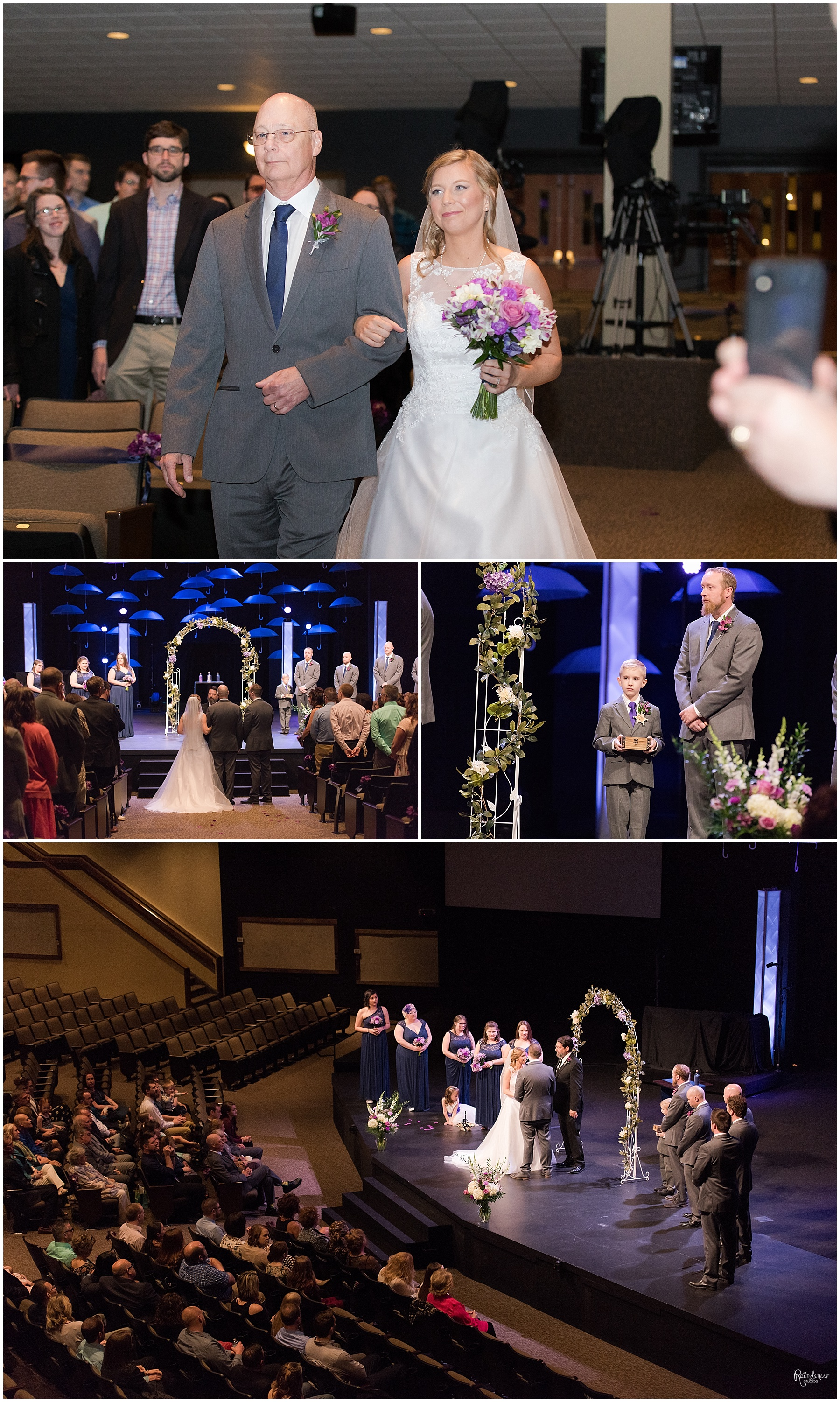 Wedding ceremony by Raindancer Studios Indianapolis Wedding Photographer Jill Howell
