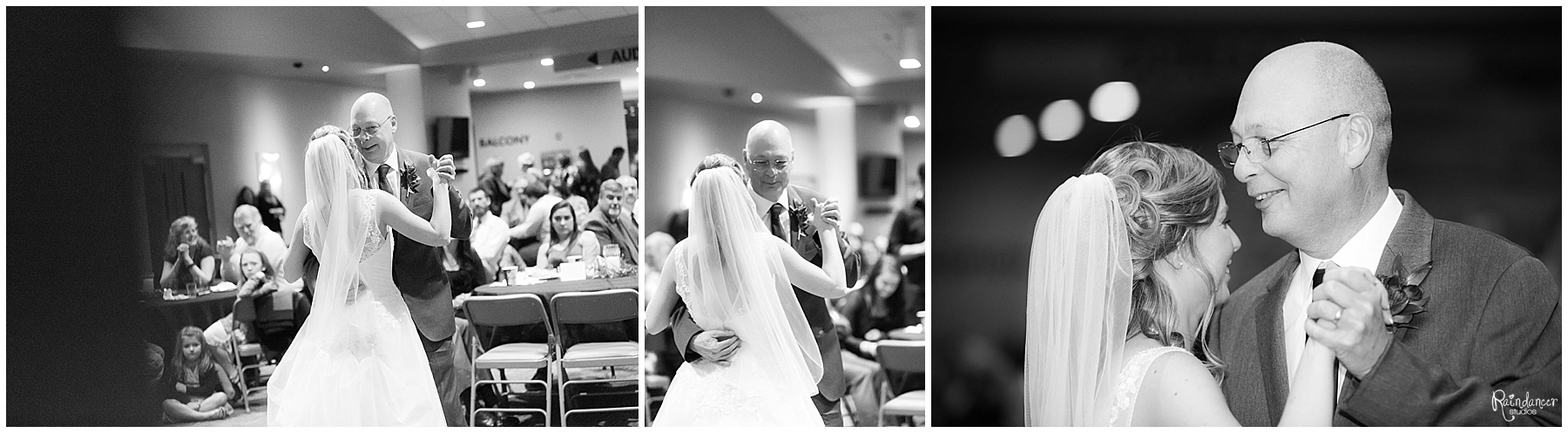 Bride dancing with her father by Raindancer Studios Indianapolis Wedding Photographer Jill Howell