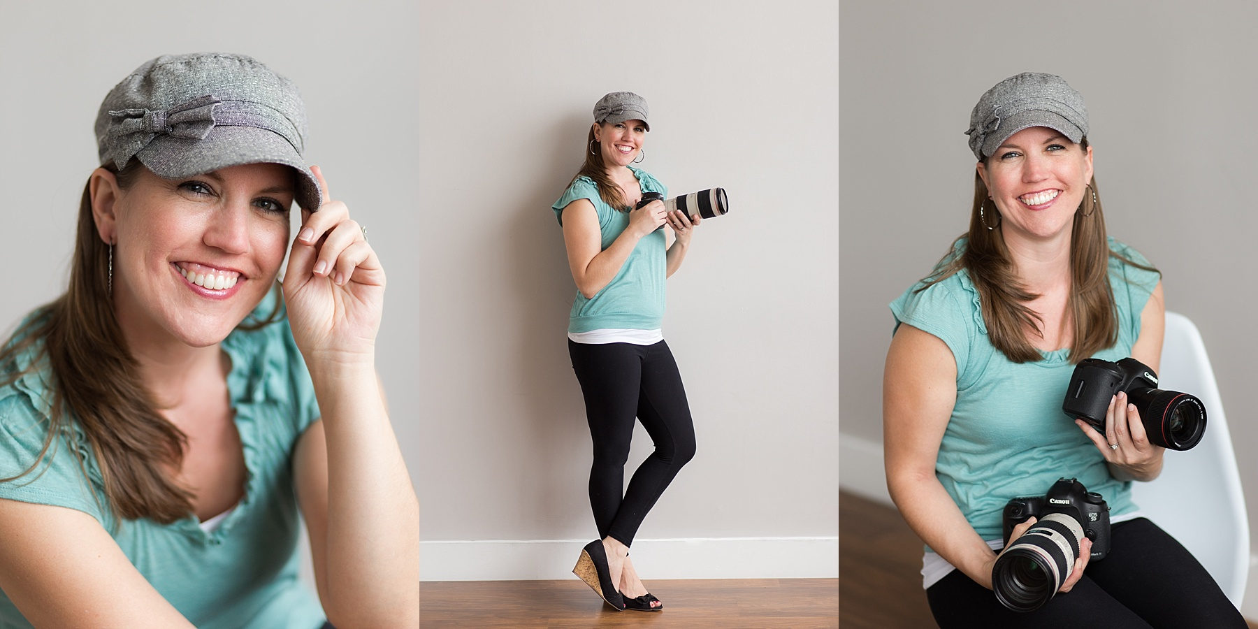 Headshots of Indianapolis Photographer, Jill Howell.