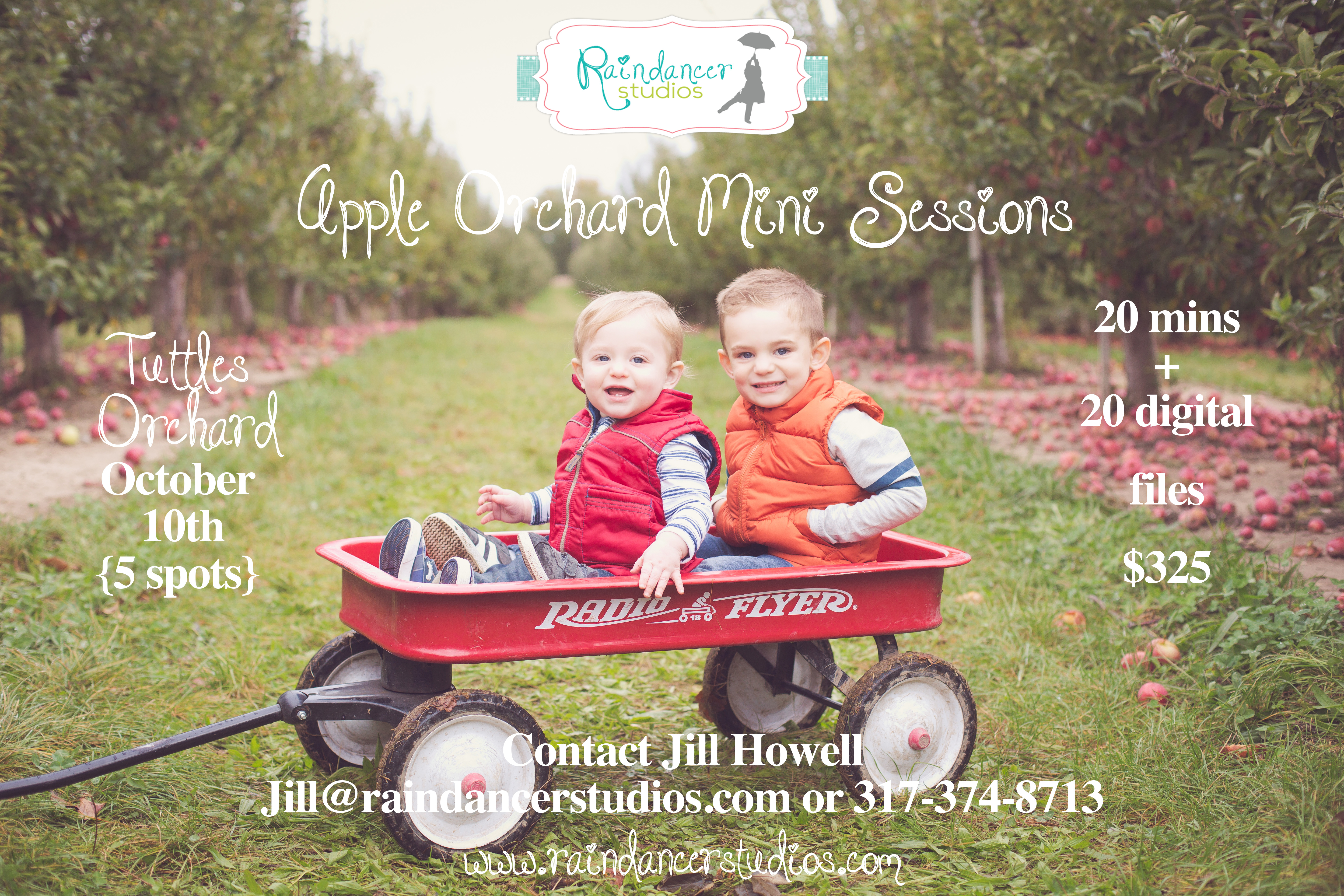 Apple Orchard Mini Sessions at Tuttles Orchard