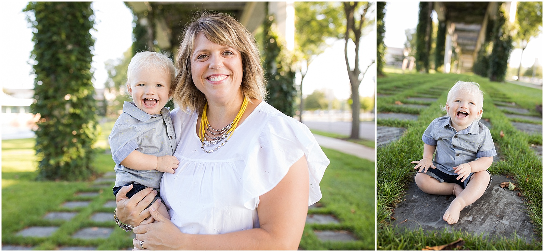 A mother and her one year old baby boy, Columbus Family Photography, Raindancer Studios