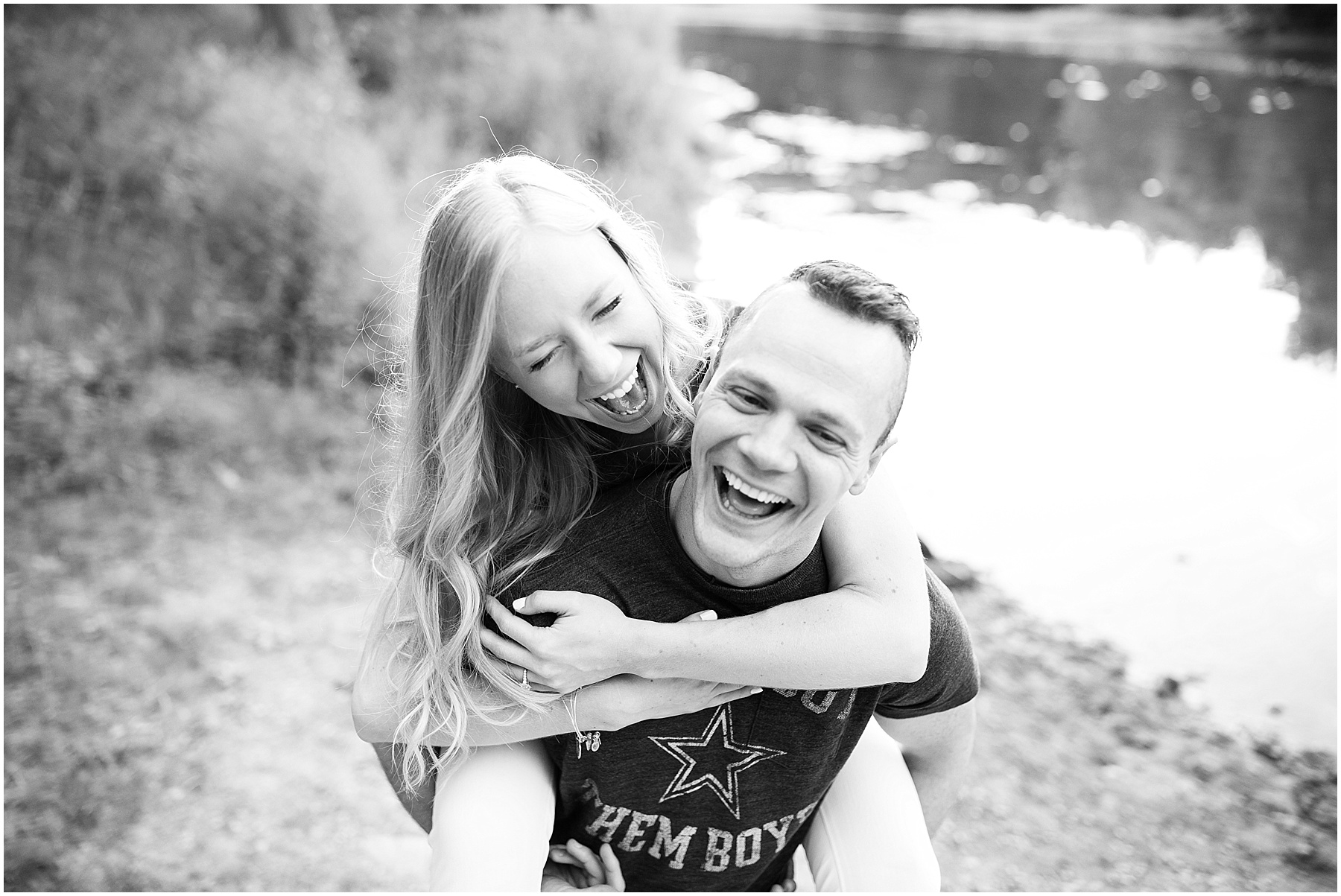 Two people in love, capturing true happiness, Indianapolis Engagement Photographer, Raindancer Studios