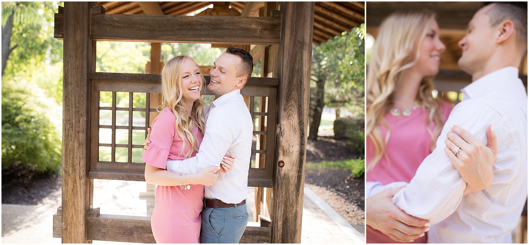 You can never fall in love with someone whom you never laugh with. Indianapolis Engagement Photographer, Raindancer Studios