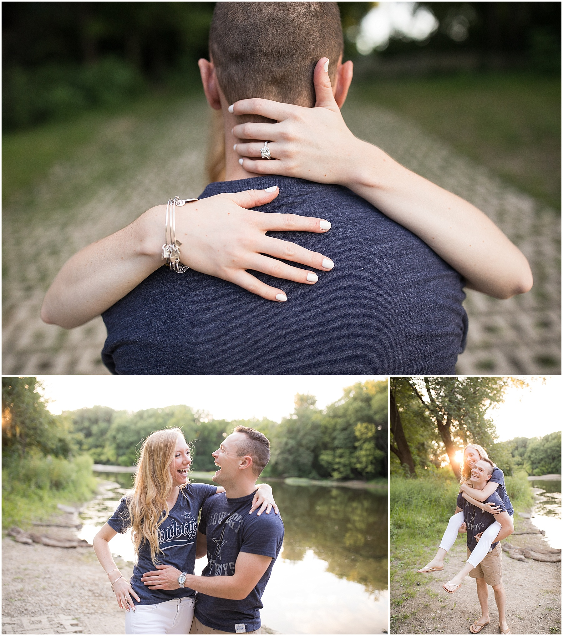 Love the one whom makes your laugh. Indianapolis Engagement Photographer. Raindancer Studios