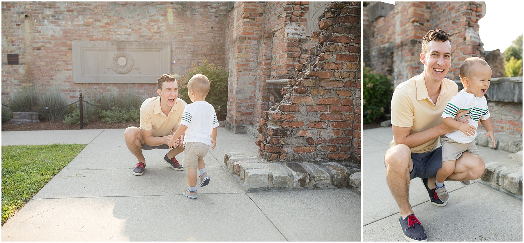 Father and his son playing together. Indianapolis Family Photography, Raindancer Studios