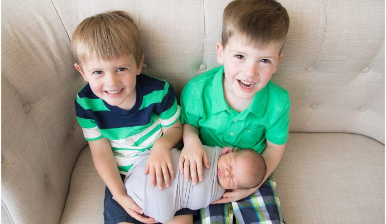 Third Baby Boy – Indianapolis Newborn Photography