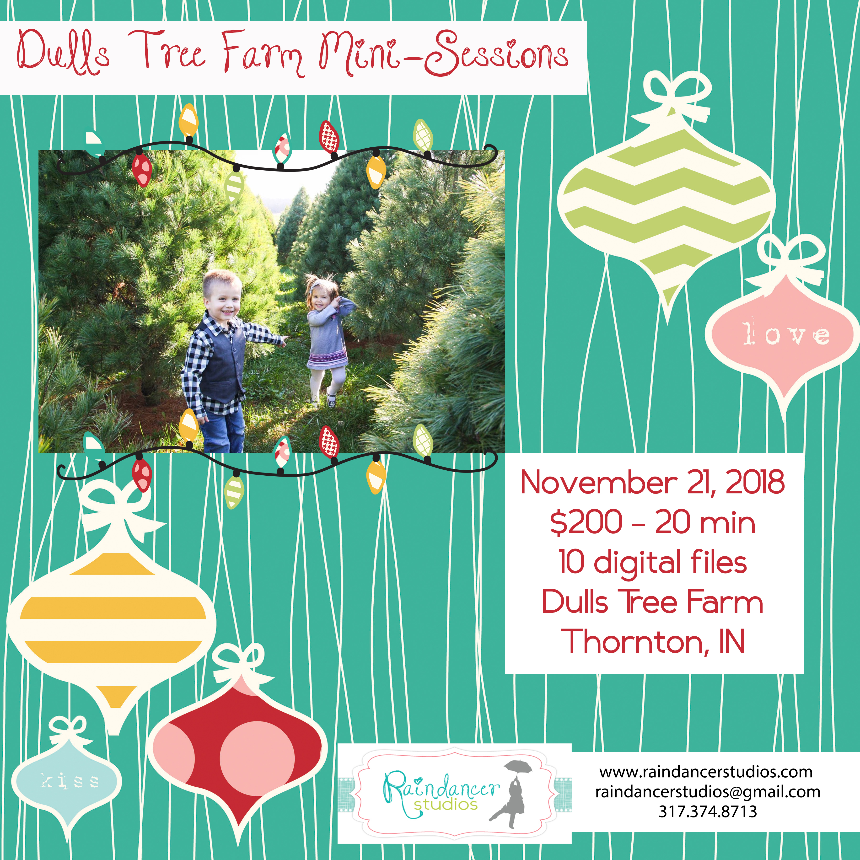 Dulls Tree Farm Holiday Mini Sessions 2018